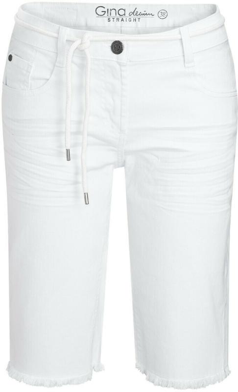 Damen Jeansshorts mit Bindegürtel (Nur online)