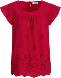 Damen Blusenshirt mit Loch-Stickerei (Nur online)