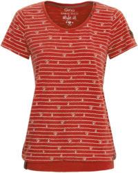Damen T-Shirt mit Zierknöpfen (Nur online)