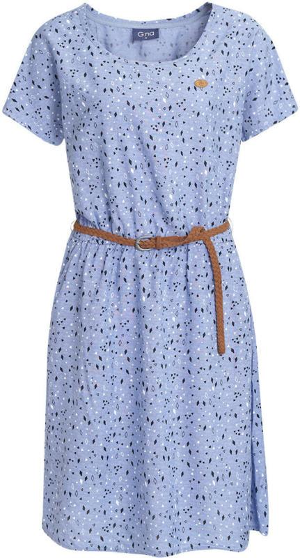 Damen Kleid mit Flechtgürtel (Nur online)