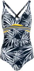 Damen Shape-Badeanzug mit Blätter-Motiv (Nur online)