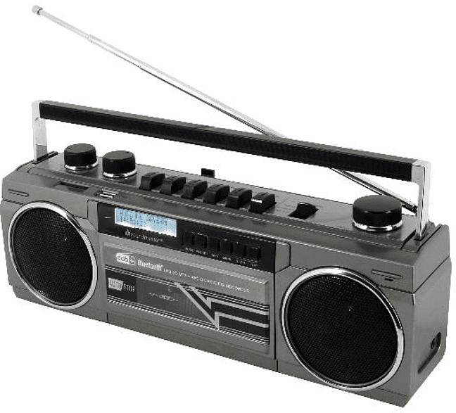 SRR70TI DAB+ UKW Radio/Kassettenrekorder
