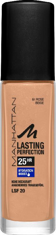 MANHATTAN Cosmetics Make-up Lasting Perfection Foundation Rose Beige 64
