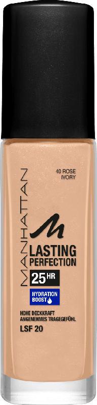 MANHATTAN Cosmetics Make-up Lasting Perfection Foundation Rose Ivory 40
