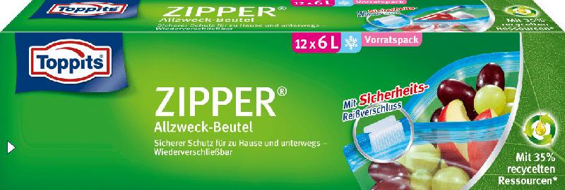 Toppits Zipper 6L XL