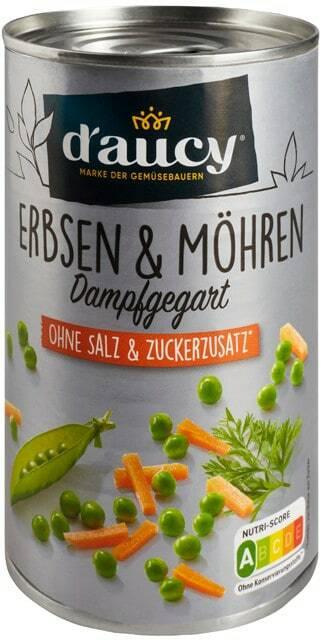 D'aucy Erbsen & Möhren