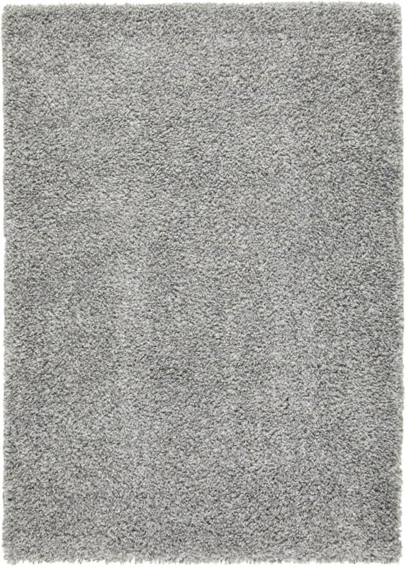 Hochflorteppich Simon in Grau ca. 120x170cm