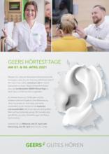 GEERS Hörtest-Tage