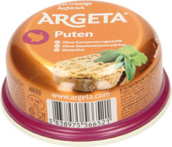 Aufstrich mit 30% Putenseparatorenfleisch - mit Milcheiweiß