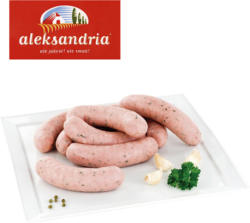 Brühwurst nach polnischem Rezept, umgerötet, mittelgrob