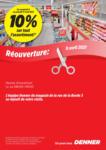 Denner Réouverture - al 17.04.2021