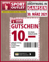 GUTSCHEIN Sport Outlet Gamsen