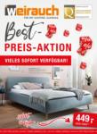 Möbel Weirauch GmbH Möbel Weirauch Best-Preis-Aktion - bis 09.05.2021