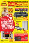 Opti Wohnwelt Opti MegaStore: Möbelangebote - bis 07.04.2021
