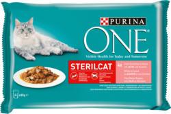 Purina ONE ONE Sterilcat Saumon en Sauce 4x85g