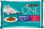 QUALIPET Purina ONE Senior mit Rind & Karotten 4x85g - au 10.04.2021