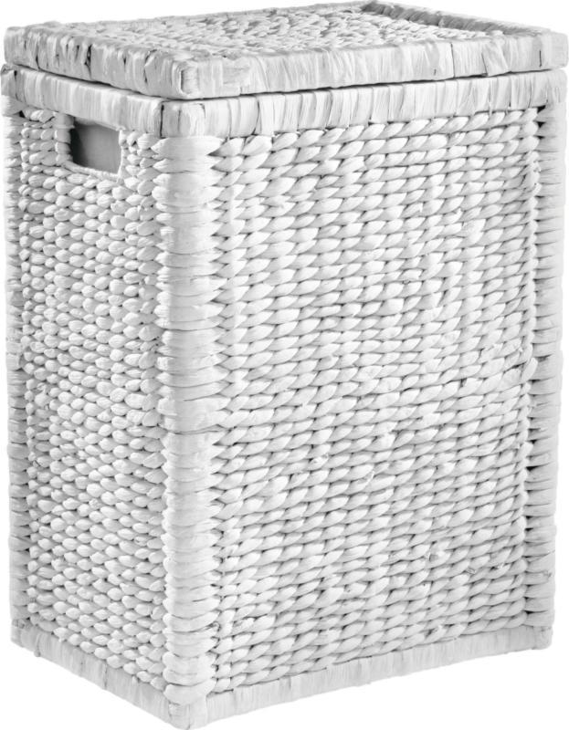 Wäschekorb Tobi in Weiß ca. 78l