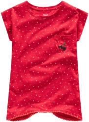 Mädchen T-Shirt mit Pompon-Bordüre (Nur online)