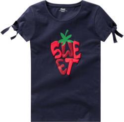 Mädchen T-Shirt mit Knotendetail (Nur online)