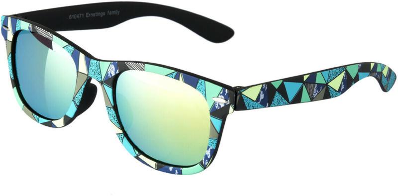 Jungen Sonnenbrille mit buntem Muster (Nur online)
