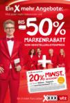 XXXLutz St. Florian - Ihr Möbelhaus in Sankt Florian XXXLutz Flugblatt - Ein X mehr Angebote - bis 27.04.2021