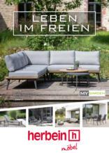 Möbelhaus Herbein: Leben im Freien