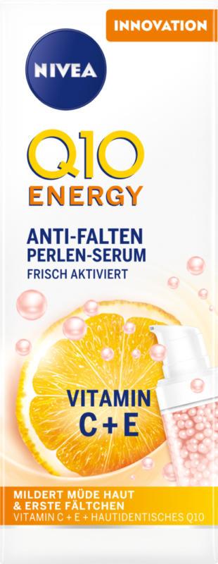 Sérum aux perles anti-rides Q10 Energy Nivea, 30 ml