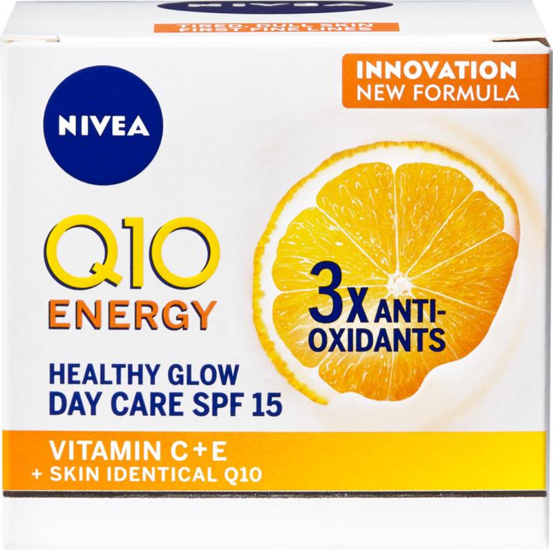 Soin anti-rides Q10 Energy Nivea, Crème de jour, IP 15, 50 ml