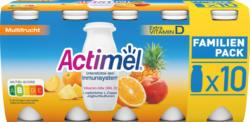 Yogourt à boire Multifruit Actimel Danone , probiotique, 10 x 100 g