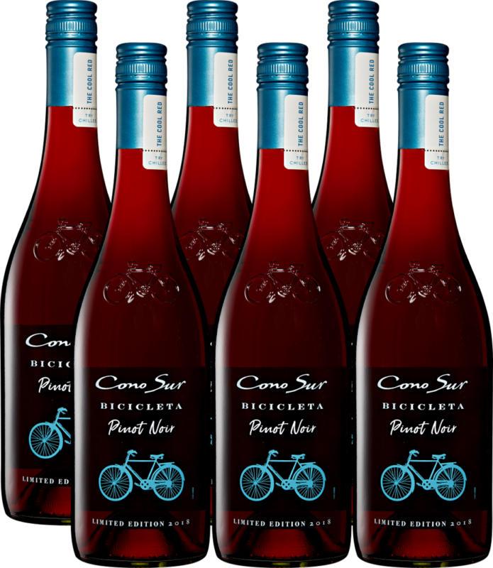 Bicicleta Cono Sur Pinot Noir , 2020, Chili, 6 x 75 cl
