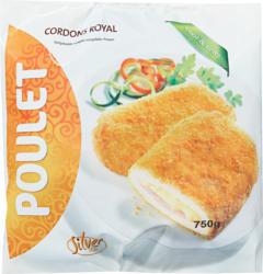 Silverstar Poulet Cordons Royal, 750 g