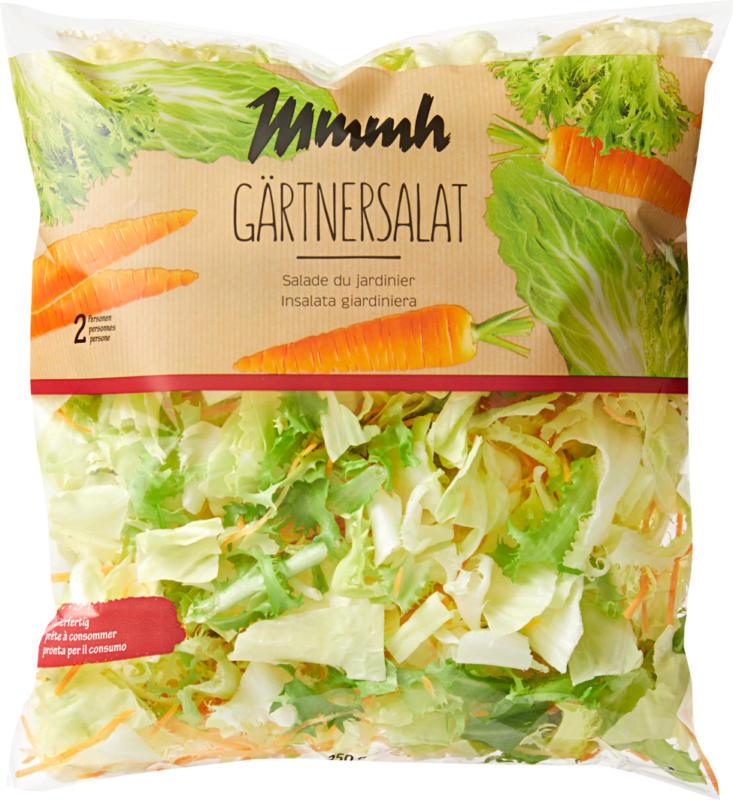 Mmmh Gärtnersalat, servierfertig, Herkunft siehe Verpackung, 250 g