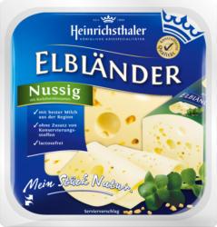 Heinrichsthaler Käse, Bärlauch, in Scheiben, laktosefrei, 200 g