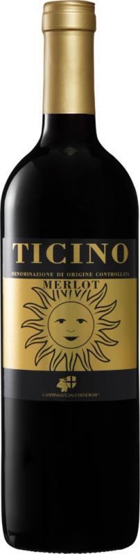Sole Merlot del Ticino DOC, 2017, Tessin, Schweiz, 75 cl