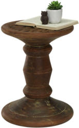 Beistelltisch in Holz 36/36/48 cm