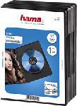 MediaMarkt HAMA Boîtier DVD Slim - Custodie vuote per DVD (Nero)