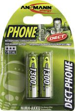 ANSMANN 5030802 DECT AA NIMH 1300MAH - Wiederaufladbare Batterie