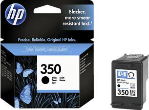 HP 350 BLACK - Tintenpatrone (Schwarz)