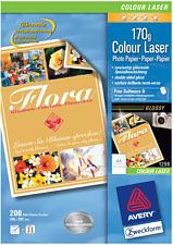 ZWECKFORM Superior Colour Laser Paper, A4, 170 g/m², 200 feuilles -