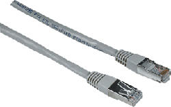 HAMA CAT-5e-Netzwerkkabel STP - Netzwerkkabel (Grau)