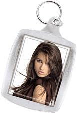 HAMA 00063182 KEY CHAIN L - Acryl-Schlüsselanhänger (Transparent)