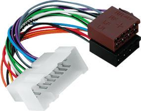 HAMA 045757 KFZ-AD.NISSAN ISO - Iso Adapter (Mehrfarbig)