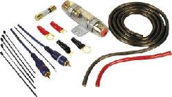 HAMA POWER KIT 10MM2 OFC - Set di collegamento stadio di potenza (Multicolore)