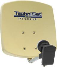 TECHNISAT DIGIDISH 33 - Antenna DigitalSat alte prestazioni (Beige)