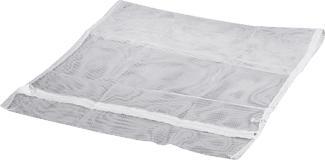 XAVAX Filet de lavage 70 x 50 cm Filet à linge (Blanc)