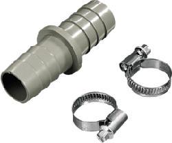 XAVAX 110810 Ablaufschlauchverbinder (Beige)