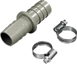 XAVAX 110810 raccord de tuyau de vidange (Beige)
