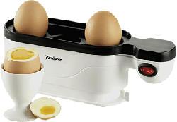 TRISA Eggolino - Bollitore per uova - Per 3 uova - Bianco - Cuociuova (Bianco)