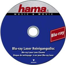 HAMA Blu-ray-Laserreinigungsdisc - Reinigungs-Disc