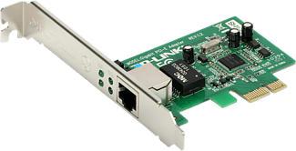 TP-LINK TG-3468 - Adaptateur PCIe Wi-Fi (Argent/Vert)